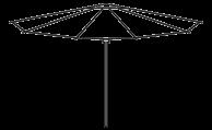 Tornado parasol line drawing