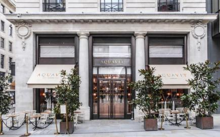 Greenwich® Awnings for Aquavit, St James's Market, London